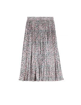 Frnch Pink Floral Skirt