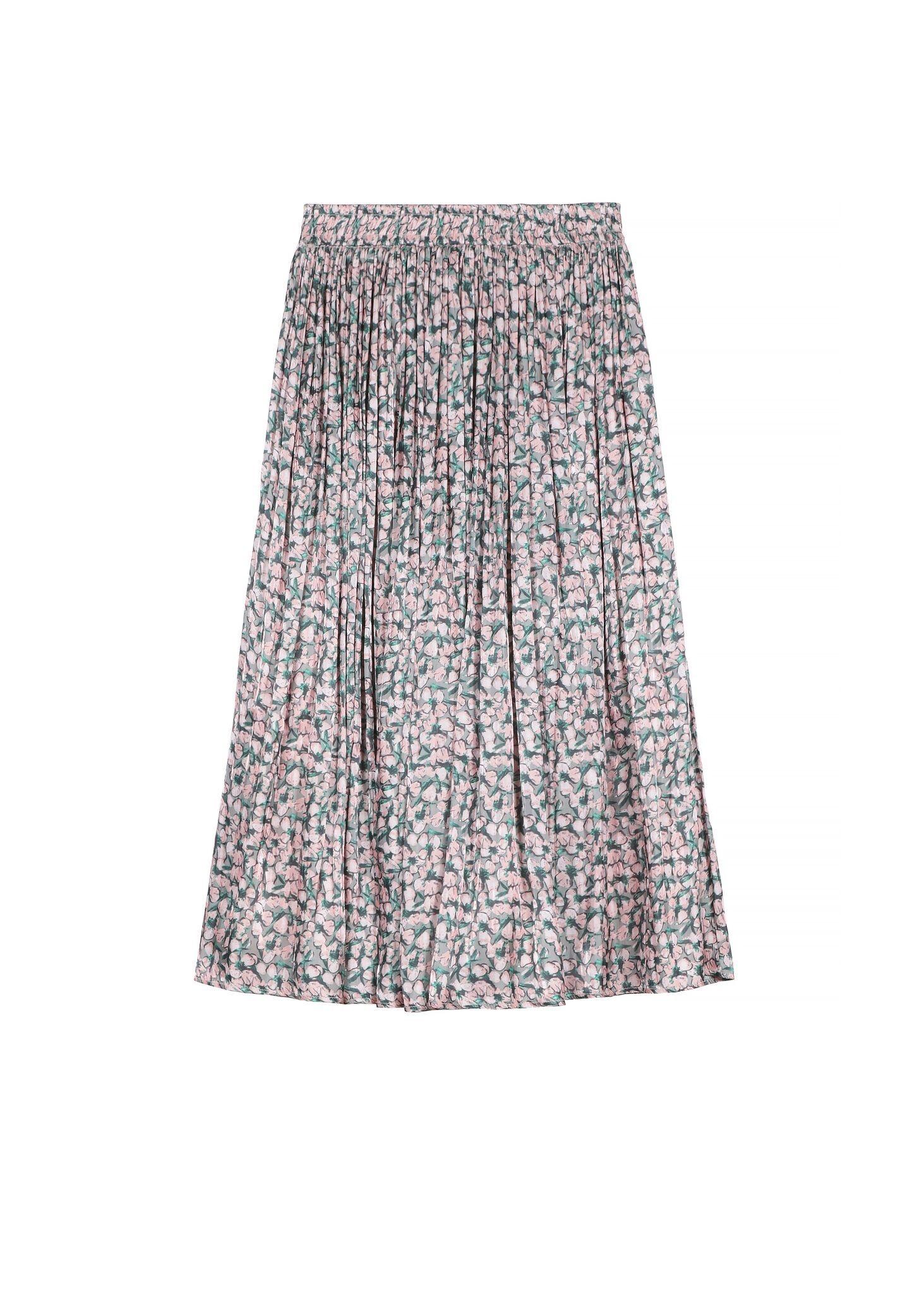 Frnch Pink Floral Skirt
