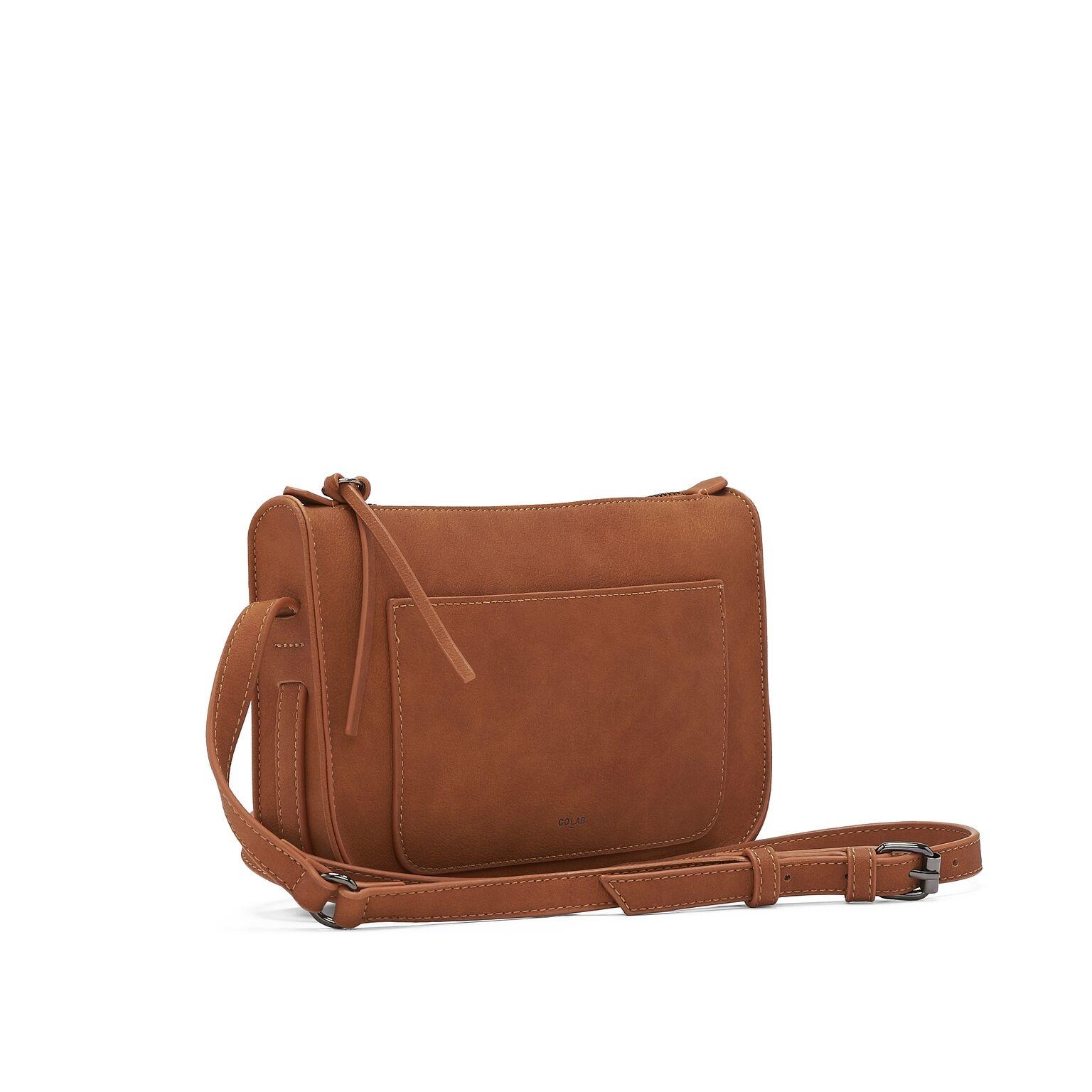 Co-lab Cognac Crossbody Bag