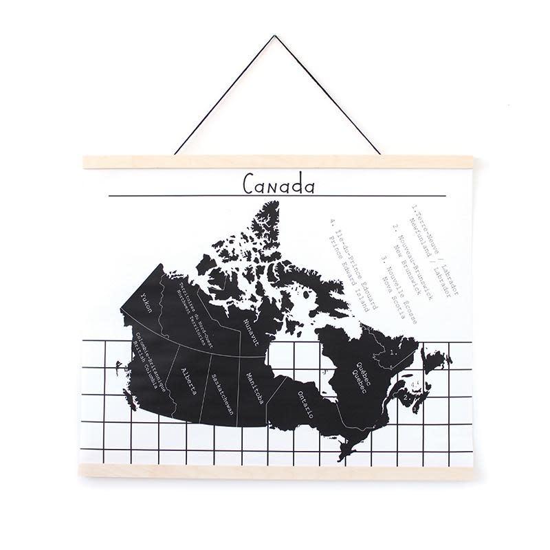 Gautier Studio Affiche Carte Canada