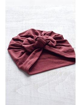 Mini Bretzel Turban Premium Boucle Bébé - Choix Couleurs