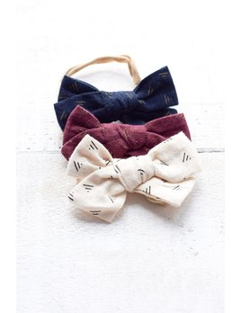 Mini Bretzel Tribal Bows Set