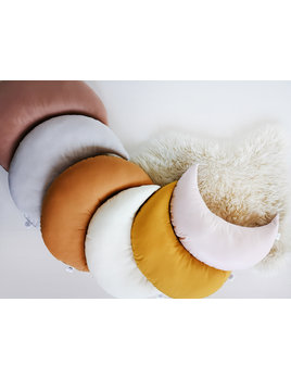 The Butter Flying Moon Pillow - Multiple Colors