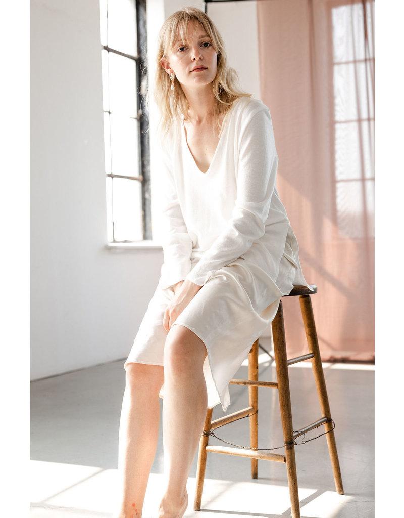 Essentiels Co Moira Satin Skirt