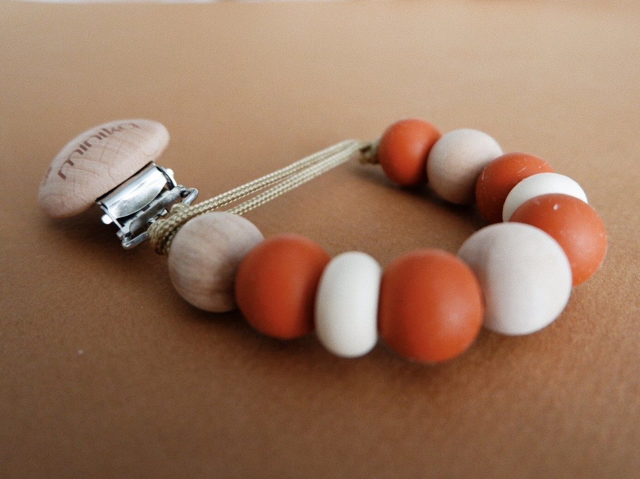 Minika Boho Soother Clip - Multiple Colors