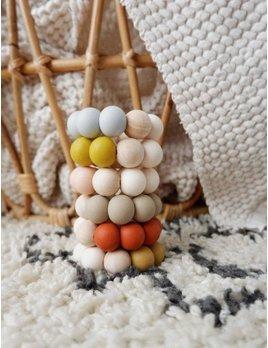 Minika Simple Teether Ring - Multiple Colors