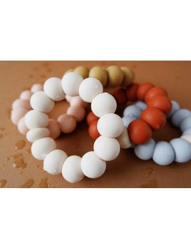 Minika Freezer Teether Ring - Multiple Colors