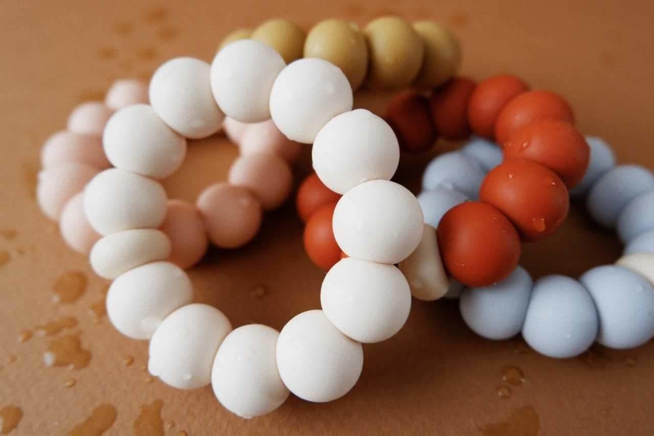 Minika Freezer Teether Ring - Multiple Colors