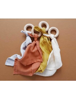Minika Comforter Teether - Multiple Colors