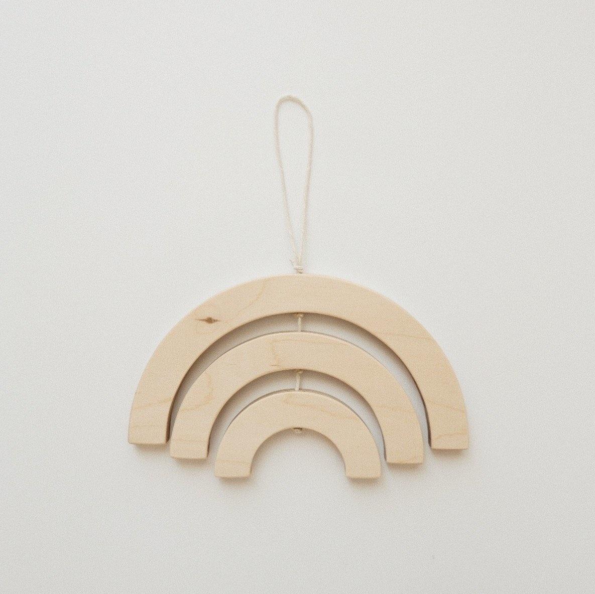 Minika Mini Arc-en-Ciel Bois - Plusieurs Couleurs