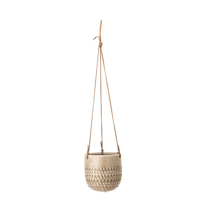 Bloomingville Leather Strings Planter
