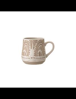 Bloomingville Paisley Artisan Mug