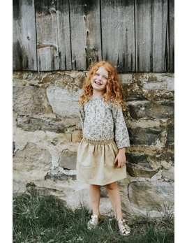 Little Joy by Melissa Lajoie Linen Skirt - Multiple Colors