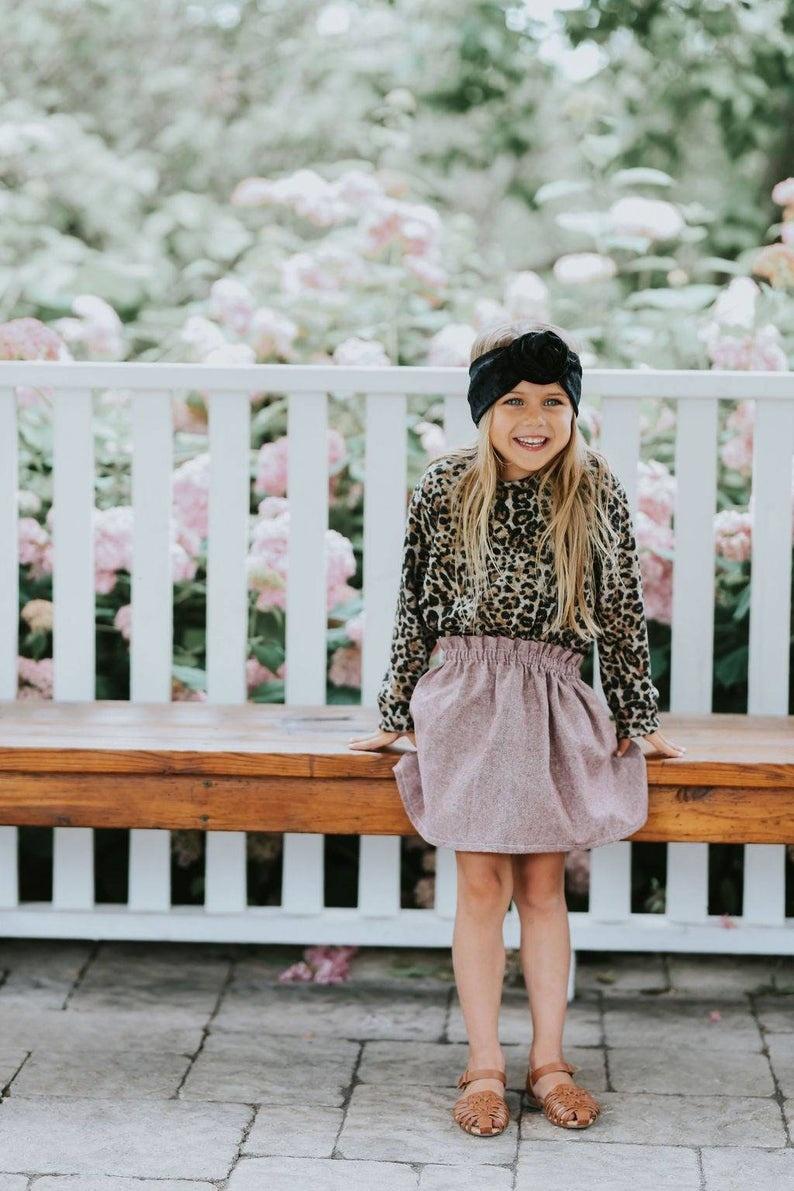 Little Joy by Melissa Lajoie Jupe Lin - Choix Couleurs