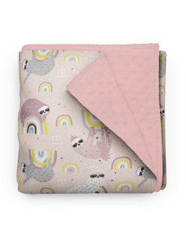 Olé Hop Sloths Duchess Minky Blanket