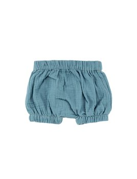 Bajoue Pastel Blue Puff Shorts