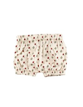 Bajoue Floral Puff Shorts