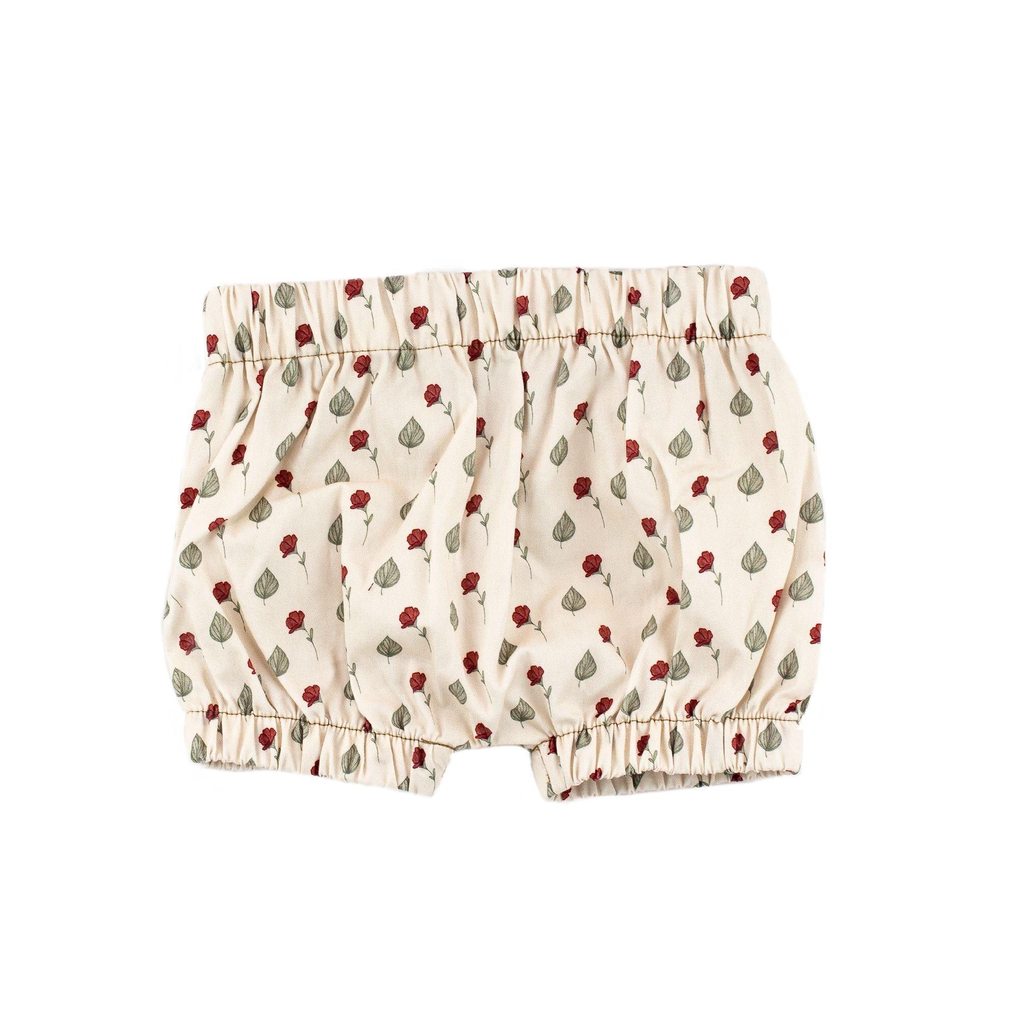 Bajoue Floral Puff Shorts