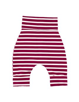 Bajoue Striped Burgundy Evolutive Pants