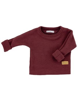 Bajoue Bordeaux Evolutive Sweater