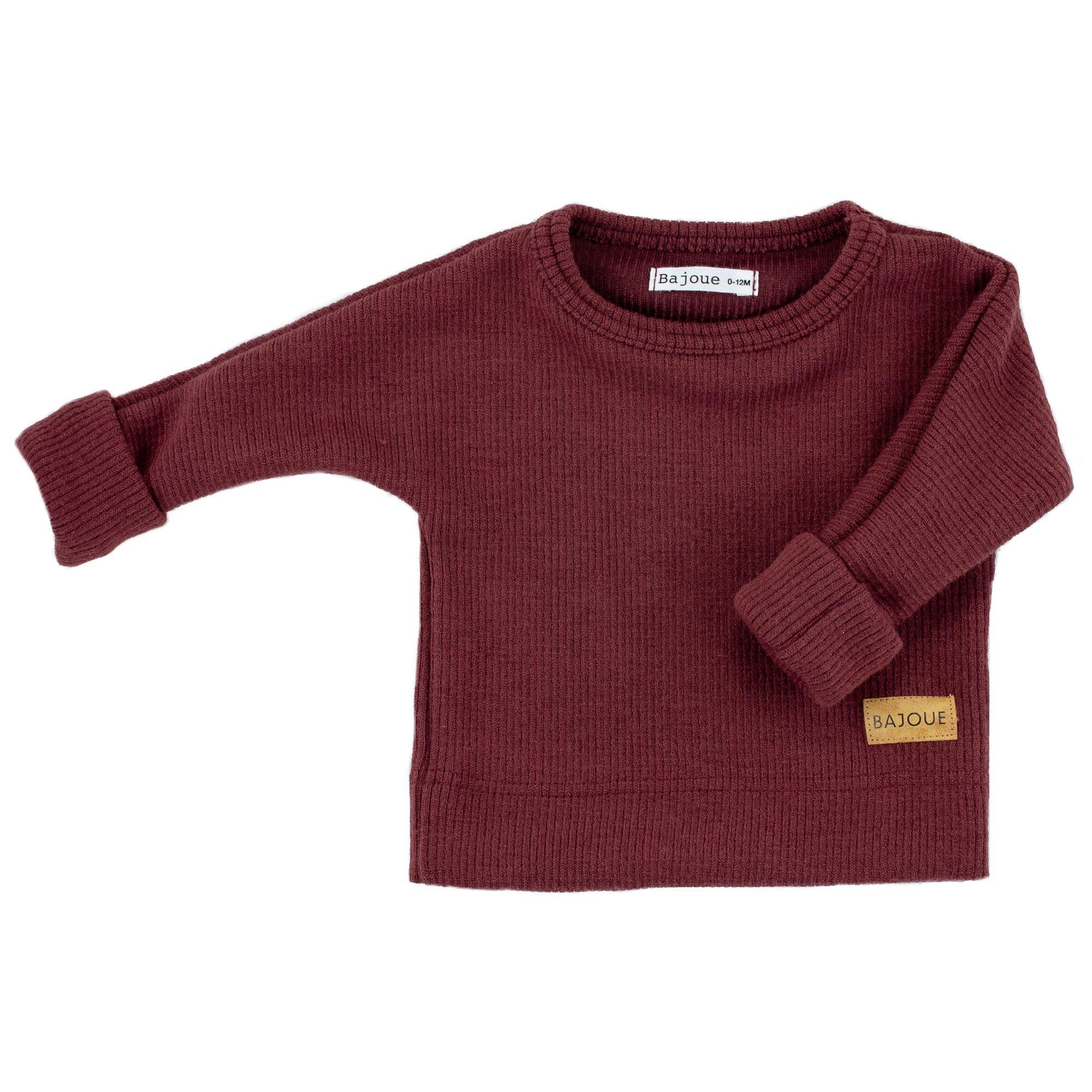 Bajoue Bordeaux Evolutive Sweater