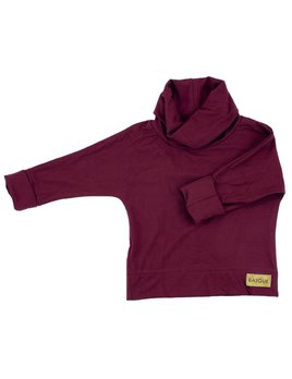 Bajoue Soft Burgundy Turtleneck