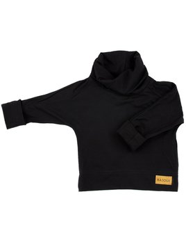 Bajoue Soft Black Turtleneck