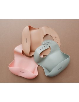 Minika Silicone Bib - Multiple Colors