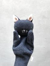 Charcoal Kitten Puppet