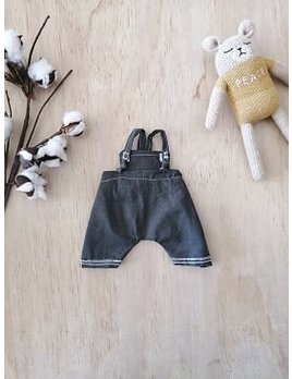 Paola Reina Doll Grey Overall