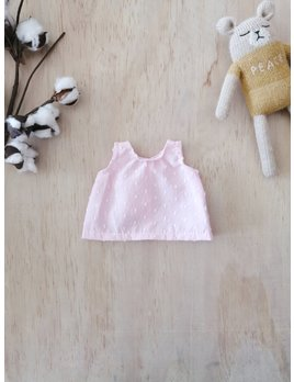 Paola Reina Pink Doll Tank Top