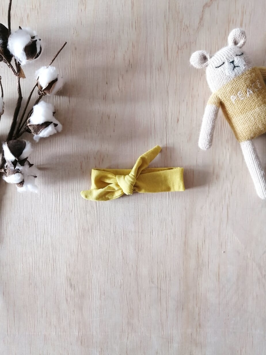 Paola Reina Mustard Doll Headband