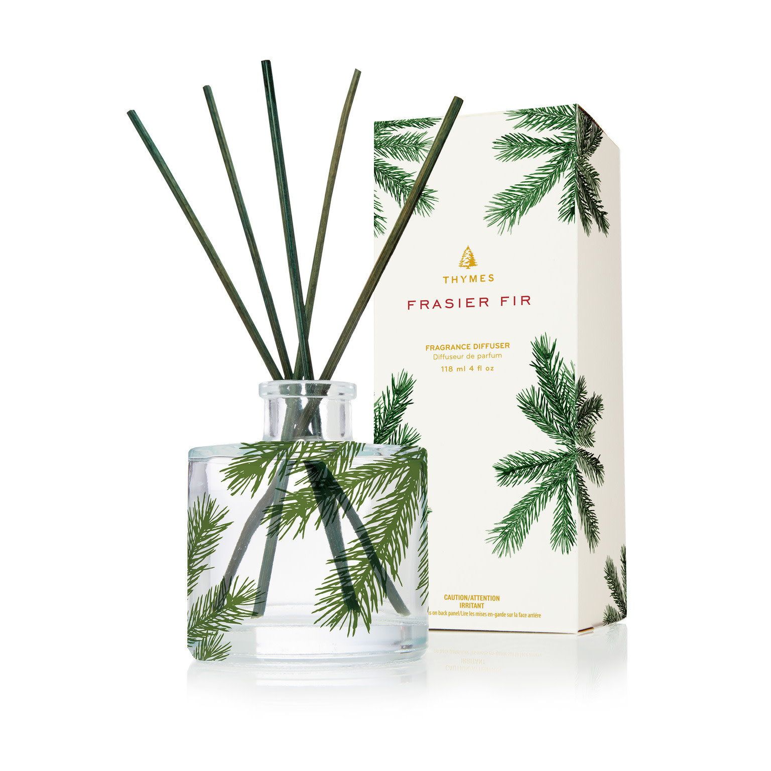 Thymes Pine Glass Diffuser
