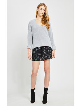 Gentle Fawn Grey Tucker Sweater