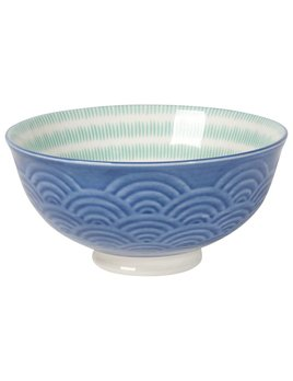Waves Small Bowl Blue