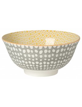 Danica/Now Yellow and Grey Pea Bowl