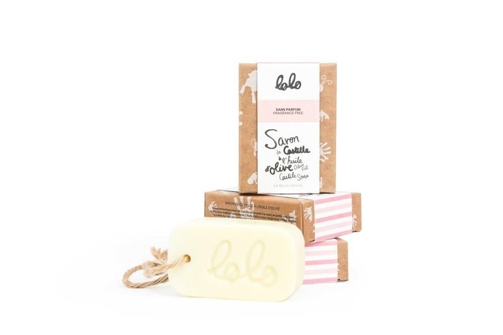 Lolo et moi Lolo Scentless Soap