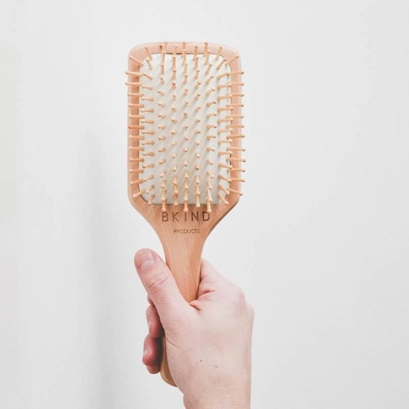 Wood Hair Brush