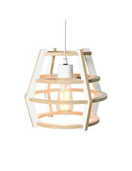 Gautier Studio White Round Lampshade