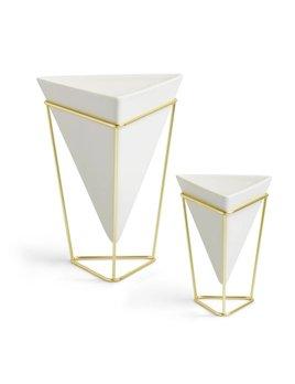 Umbra Set of 2 trigg vases
