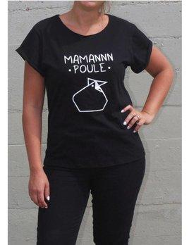 Maman Poule T-Shirt Classique Maman Poule