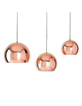 Shiraleah Small Hamilton Pendant Copper