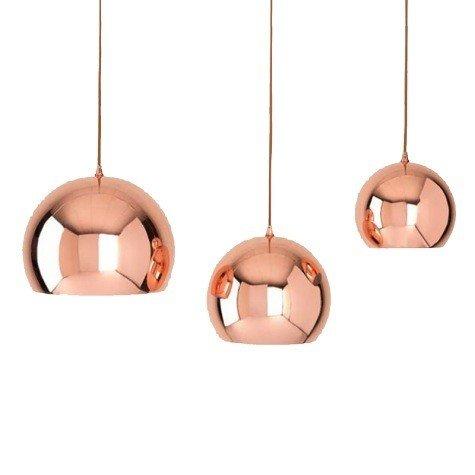 Shiraleah Small Hamilton Pendant Copper