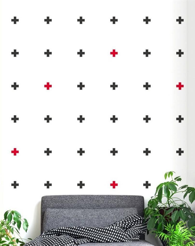 A D ZIF Cross Wall Sticker