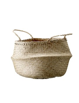 Design Home Seagrass Natural Large Basket