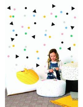 Gautier Studio Confetti Wall Stickers
