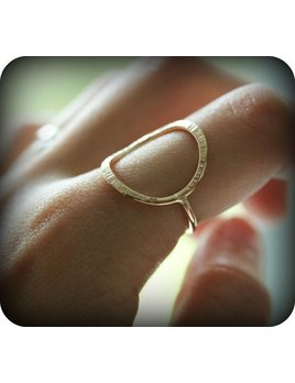 Le Cubicule Gold Filled Forged Ring