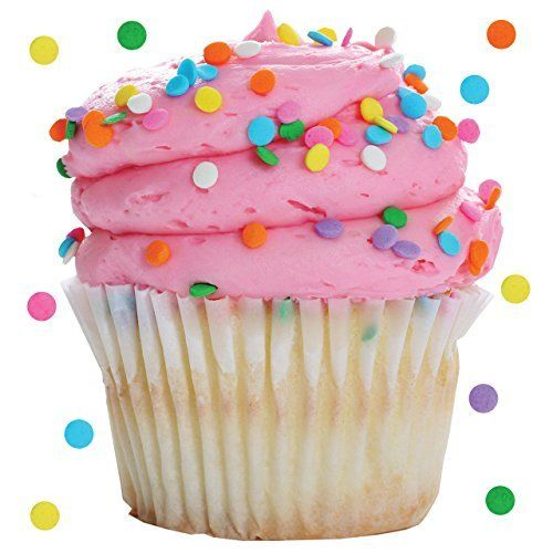 IDecoz XL Cupcake Stickertag