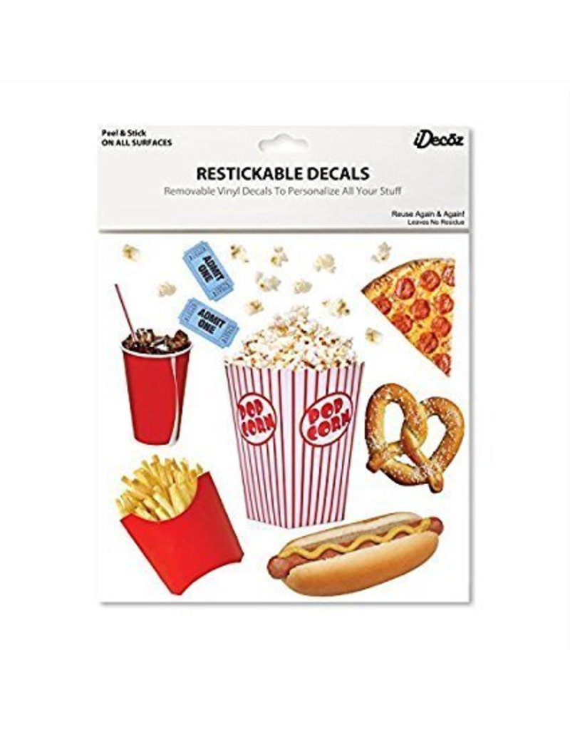 IDecoz Popcorn XL Stickertag
