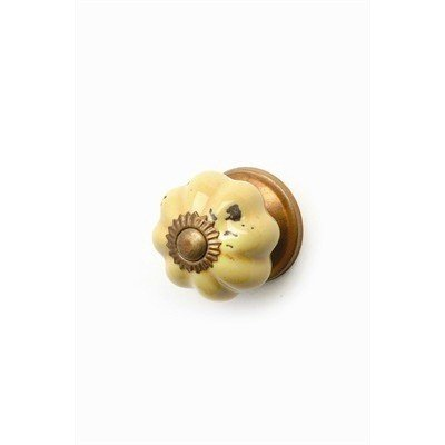 ADV Petite Poignée Citrouille Jaune